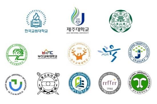 전국에는 10개 교대와 교원대,제주대, 이화여대 초등교육과가 운영되고 있다.