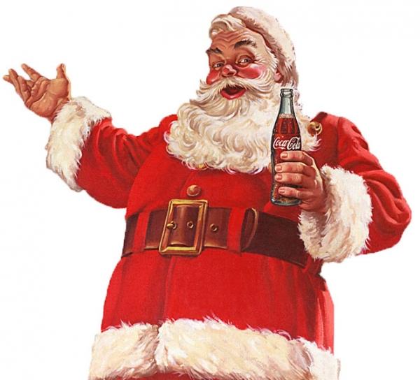 코카콜라가 광고로 만든 산타클로스