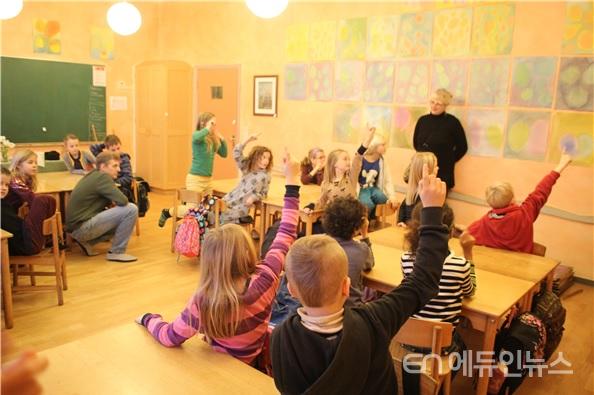 내 집같이 평온한 덴마크의 교실 모습.(사진=김재현 교사)